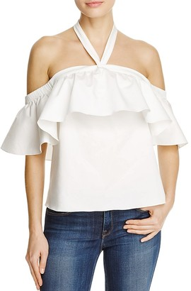 Rebecca Taylor Ruffle Halter Top $250 thestylecure.com