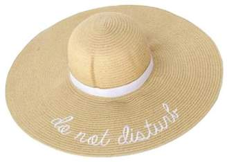 Twos Company Two's Company Do Not Disturb Sun Hat