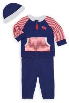 Little Me Baby Boy's Three-Piece Hat, Jacket & Pants Set