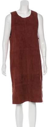 Veda Suede Midi Dress w/ Tags