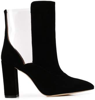 Paris Texas cut-out heeled boots