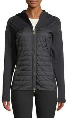 Bogner Sport Colby Long-Sleeve Zipper-Front Fitted Jacket