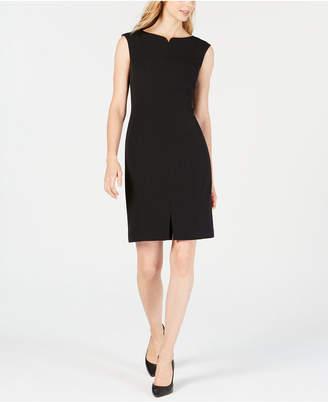 Anne Klein Crepe Sheath Dress