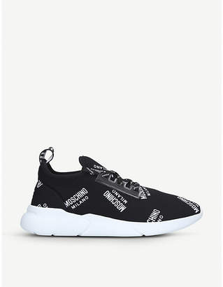 Moschino Logo-detail low-top trainers