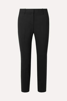 Theory Treeca 2 Stretch-wool Tapered Pants - Black