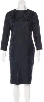 Rochas Silk Midi Dress