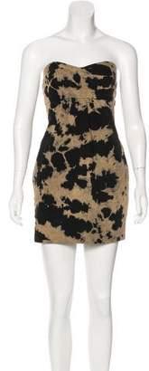 Current/Elliott Denim Printed Dress