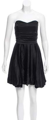 Mara Hoffman Strapless Silk Dress