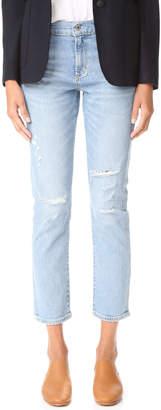 A Gold E AGOLDE Isabel Slim Fit Boyfriend Jeans