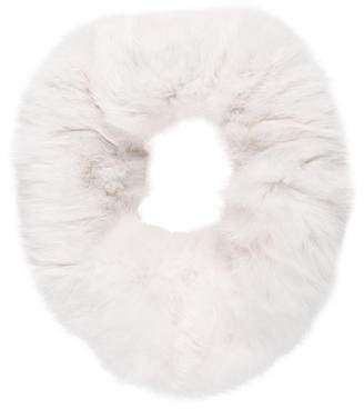 Adrienne Landau Rabbit Fur Snood