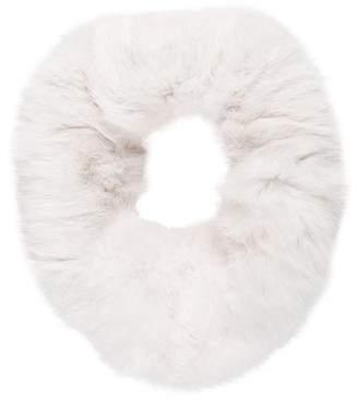 Adrienne Landau Rabbit Fur Snood