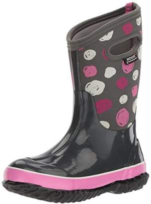 Bogs Kids' Classic High Waterproof Insulated Rubber Neoprene Rain Snow Boot