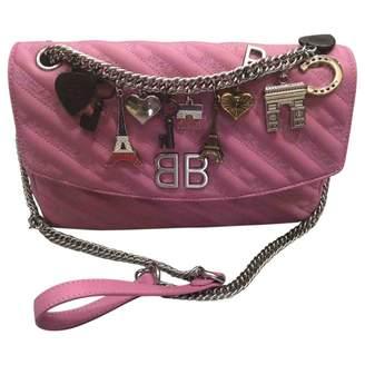 Balenciaga BB Round leather handbag