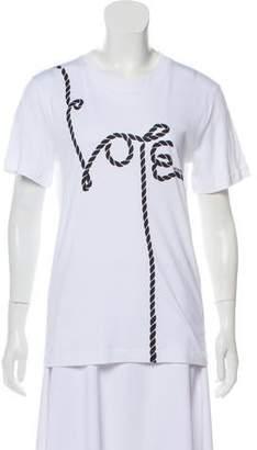Monse Short Sleeve Graphic Print T-Shirt