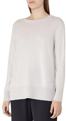 REISS Edna Merino Wool-Blend Sweater $230 thestylecure.com