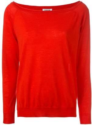 P.A.R.O.S.H. cashmere knitted slit-hem jumper