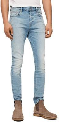 AllSaints Cigarette Skinny Jeans in Light Indigo