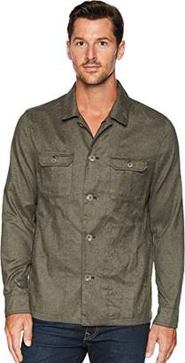 Calvin Klein Men's Slim FIT Military Shirt Jacket