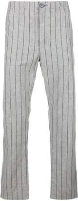 Neighborhood straight-leg striped trousers