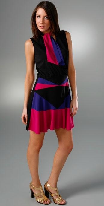 Anna Sui Matte Jersey Dress
