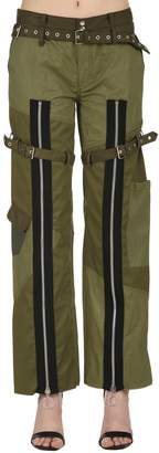 Marques Almeida Patchwork Drill Pants With Zips