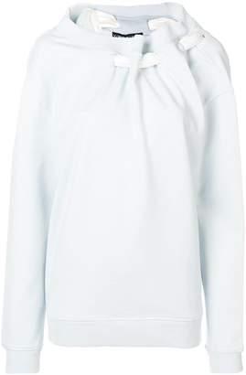 Y/Project ruched-collar sweatshirt