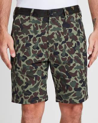Paul Smith Camouflage Cotton Shorts