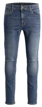 Jack and Jones Liam Stretch Jeans