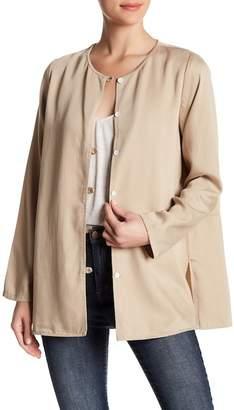 Karen Kane Button Up Relaxed Jacket