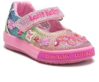 Lelli Kelly Kids Rainbow Jackie Embellished Mary Jane Sneaker (Baby & Toddler)