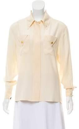 Chanel Long Sleeve Blouse