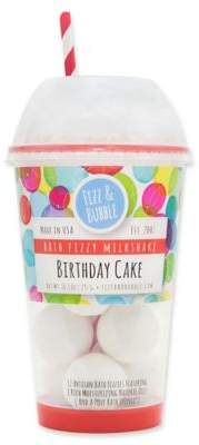 Fizz & Bubble Milkshake 12-Count Bath Fizzies in Birthday Cake