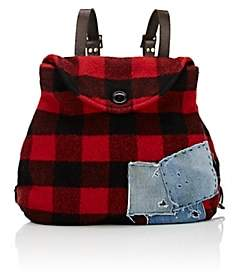 Greg Lauren Women's Flannel Backpack
