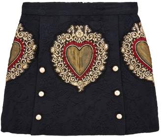 Dolce & Gabbana Heart Skirt