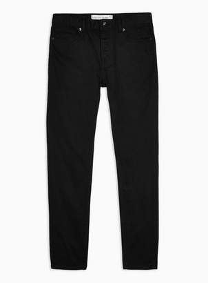 Topman Mens Black Stretch Skinny Jeans