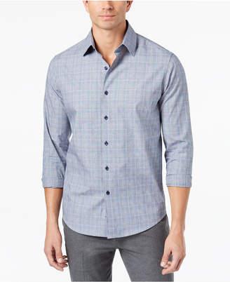 Tasso Elba Men's Piola Plaid-Print Shirt, Created for Macy's