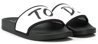 Tod's Kids logo slides