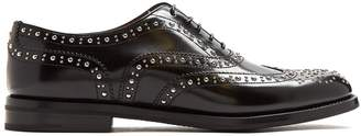 Church's Burwood stud-embellished leather brogues