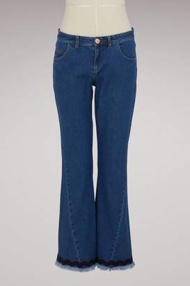 See by Chloe Cotton cropped jeans