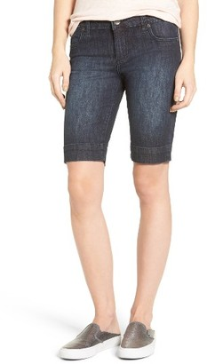 Women's Kut From The Kloth 'Natalie' Twill Bermuda Shorts $69 thestylecure.com