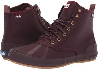 Keds Scout Boot Splash Twill Wax Women's Lace-up Boots