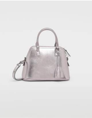 Maison Margiela 5Ac Metallized Leather Bag