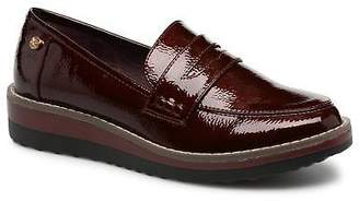 Xti Women's Rounded toe Loafers in Burgundy - Synthetic - UK 3.5 / EU 36