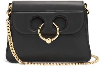 J.W.Anderson Pierce Mini Leather Cross Body Bag - Womens - Black