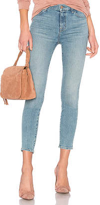 J Brand Alana High Rise Crop Skinny Jean.