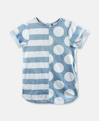 Stella McCartney bess stripes & dots dress