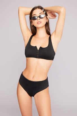 Ardene Kendall & Kylie Black Bralette Bikini Top