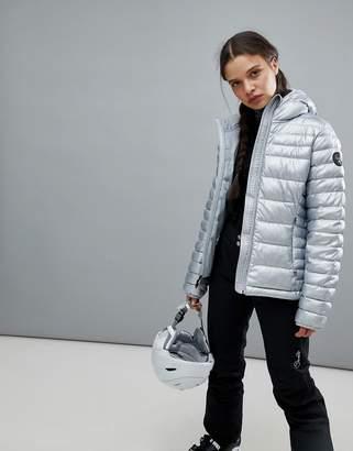 Napapijri Aerons Eco Jacket In Silver