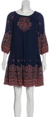 Joie Off-The Shoulder Mini Dress