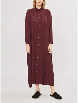 Toogood Draughtsman relaxed-fit cotton-blend dress